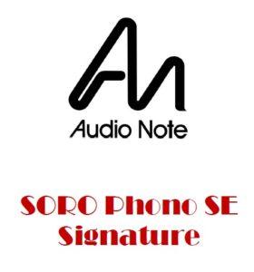 Soro Line / Phono SE Signature
