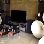 Avantgarde Trio Classic + Gaku-On in bi-amp + M10 + DAC5 + CDT5 фото с портала hifi.com.sg